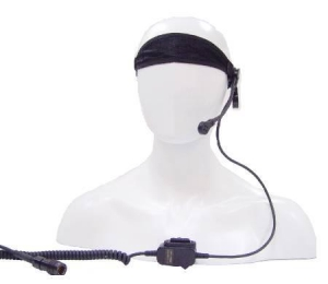 China Soft Strap Monaural Transimtter-receiver Headset flying headset Remote Wireless Microphone Headset on sale