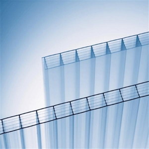 China Colored Polycarbonate Sheet Polycarbonate Panel PC Twin-wall Hollow Sheet on sale