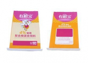 China Waterproof Woven Polypropylene Feed Bags Duck / Chicken Feed Sacks With Liner on sale