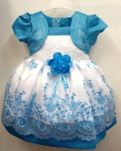 China Print Fashion Chiffon Print Lace Ball Gown Infant Baby girls dresses on sale