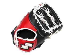China SSK Fire Heart 13 inch Black/Red First Base Mitt + BONUS US$ 199.99 on sale