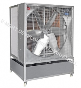 China portable evaporative air cooler/air volume 45000m3/h air cooler on sale