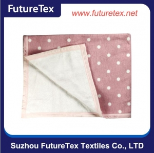 China Super Soft Feeling Nursing Cover Cotton Baby Blanket SZFT07-034-N on sale