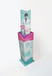 China Contact lens care solution Point of sales display in store on sale