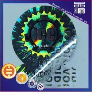 China VOID Tamper Evident Hologram Label Sticker Printing on sale