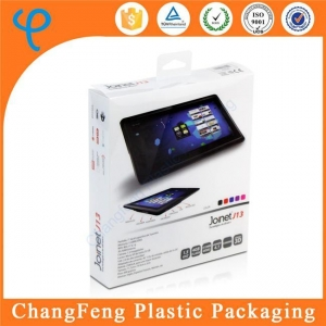 China High Quality China Manufacturer Custom Printing Plastic Folding Storage Box iPad Box Packaging on sale