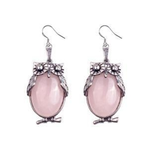 China Latest Silver Owl Drop Dangle Earring Designs Charming Jewelry on sale