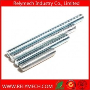 China Carbon Steel Threaded Rod, Lead Screw with Galvanized on sale