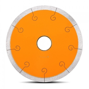 China 100mm (4) J-Slot Ceramic Tile anti chip Diamond Blade for cutting brick granite and concrete on sale