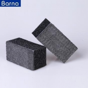 China multi purpose filth dirt remover kitchen glass cleaning steel wool scouring sponge pad on sale