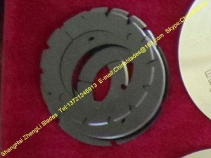 China Slitter circular cutting blade,Circular cutting circular blade,Cut by c on sale