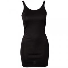 China Black bodycon tank top dress made in china on sale