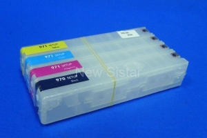 China Refillable ink cartridge for hp 970/ hp 971 on sale