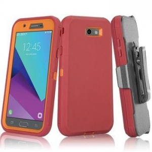 China USA Cell Phone Heavy Duty Rugged Belt Clip Holster Defender Case Cover For Samsung Galaxy on sale