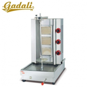China Stainless Steel Gas Shawarma Machine Doner Kebab Grill Machine on sale