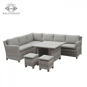 China rattan furniture BGRF1055-poly rattan garden furniture on sale