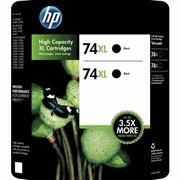 China HP 74XL High Yield Ink Cartridge Black 2pk on sale