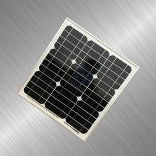 China Top quality 40W monocrystalline solar panels /solar cell /solar pv panel factory direct with TUV on sale