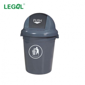China 110 Litre Plastic Big Rubbish Bin Flip Lid on sale