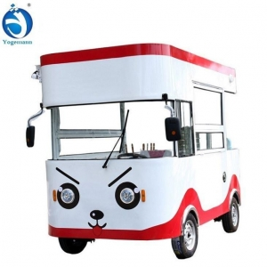 China Mobile Kitchen Ice Cream Vending Trailer on sale
