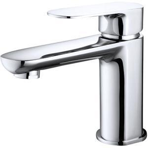 China Deck-mounted wash basin mixer on sale
