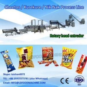 China frying kurkure snacks food extruder make machinery processing line on sale