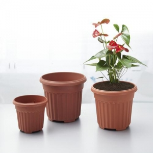 China Round Faux Terracotta Flower Pot wholesale