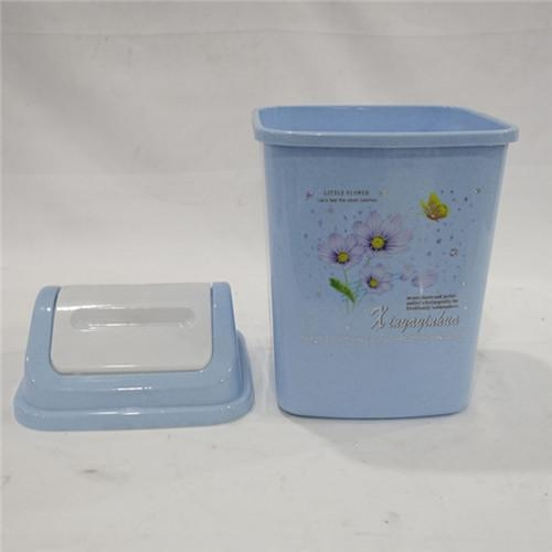 China Outdoor Trash Bins with Clamshell Design