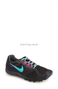 China Athletic Nike Zoom Wildhorse 2 Running Shoe for women #Black/Fuchsia - rzYK9p2v on sale