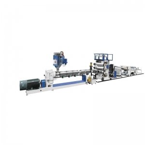 China ABS Trolley Bag Plastic Sheet Extruder Machine on sale