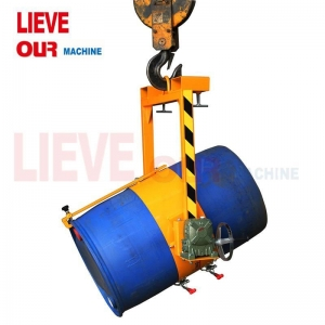 China Vertical Drum Lifters/Dispensers, Forklift Mounted and Crane Mounted Type Tilting Drum Dispenser on sale