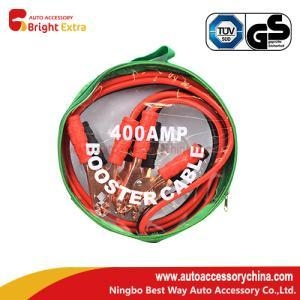 China 400 amp 4 Gauge copper wire jumper cables on sale