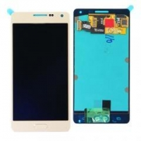 China For Samsung Galaxy A5 SM-A500 LCD Touch Digitizer Assembly With Home button Gold on sale