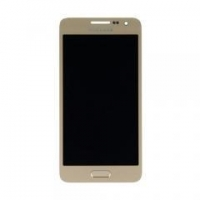 China For Samsung Galaxy A3 SM-A300 LCD Touch Digitizer Assembly With Home button Gold on sale