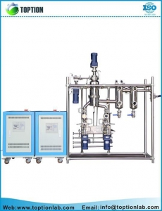China Lab Molecular Distillation Essential Oil Distillation Equipment on sale