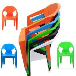 China Plastic Outdoor Furniture Side Cheap Hot Sale Modern Pp Chair For Canteen Style Chair on sale