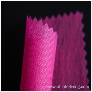 China 100% polyester non woven interlining fabric for coat on sale