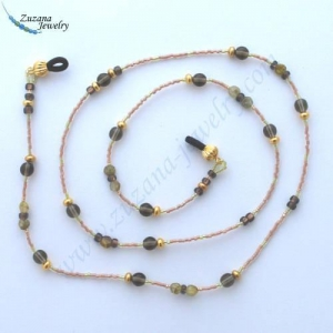 China Brown beige eyeglass chain on sale