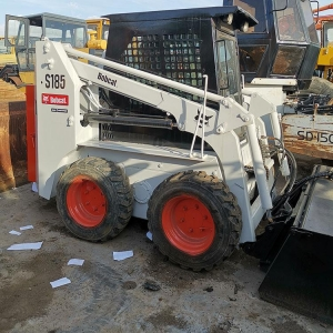 China Cheap Used S185 Skid Steer Loader on Sale in Shanghai on sale
