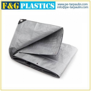 China Super Heavy Duty Silver Poly Tarps Supplier on sale